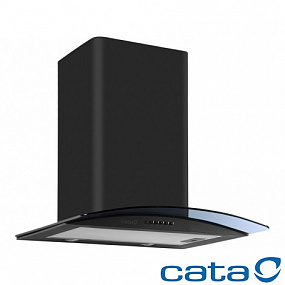 Вытяжка CATA C-600 GLASS BLACK H